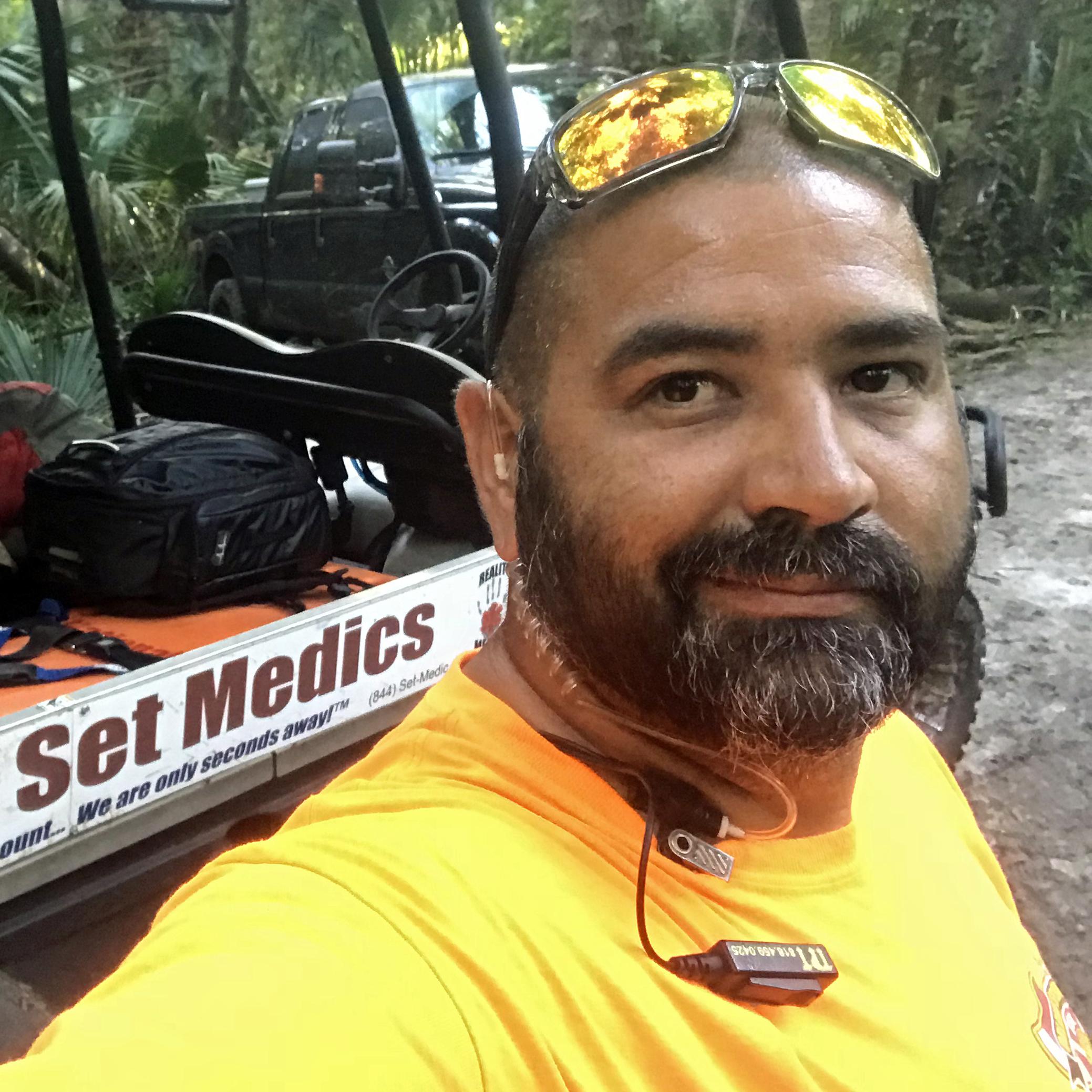 Robert Garza, EMT